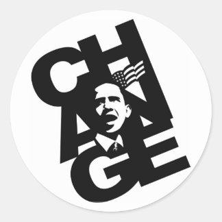 ObamaSticker Classic Round Sticker