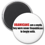 Obamicans are a Myth, They Were Never Republicans Magnet