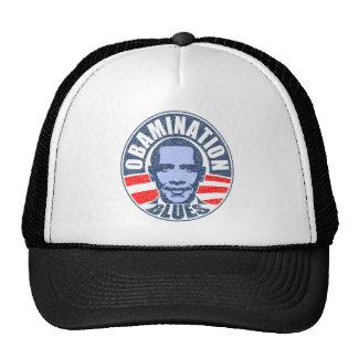 Obamination Blues Trucker Hats