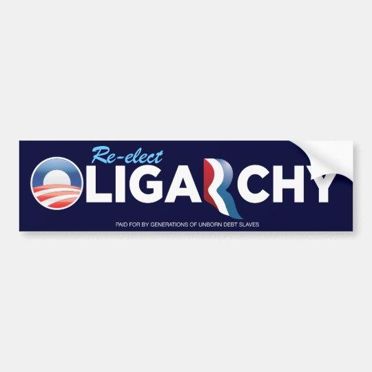 Obamny Oligarchy Bumper Sticker
