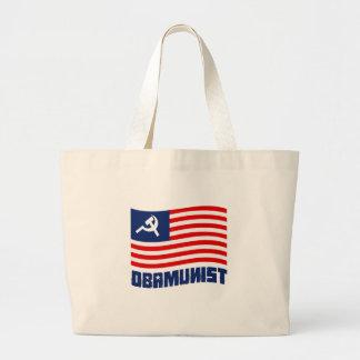 Obamunist Flag Canvas Bag
