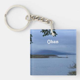 Oban Single-Sided Square Acrylic Keychain