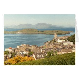Oban, Scotland (greeting card)) Card