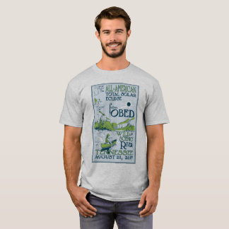 Obed Wild & Scenic River 2017 Eclipse T-Shirt