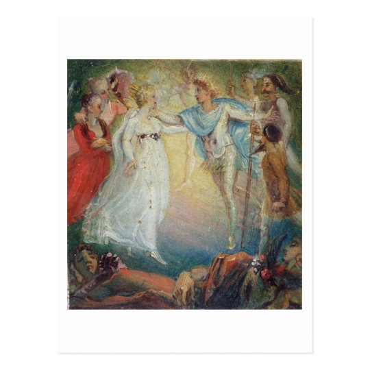 Oberon and Titania from 'A Midsummer Night's Dream