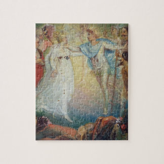 Oberon and Titania from 'A Midsummer Night's Dream Puzzle