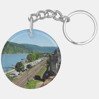 Oberwesel on the Rhine Key Ring