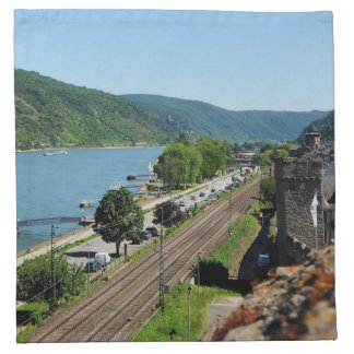 Oberwesel on the Rhine Napkin