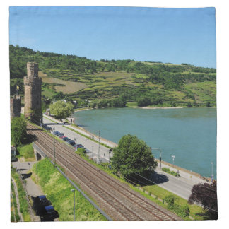 Oberwesel on the Rhine Napkin