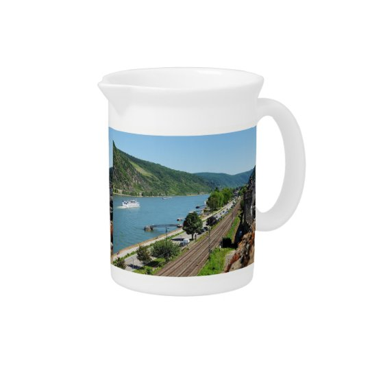 Oberwesel on the Rhine Pitcher
