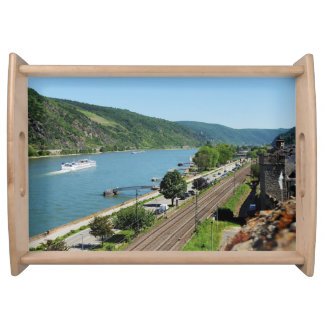 Oberwesel on the Rhine Serving Tray