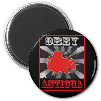 Obey Antigua 6 Cm Round Magnet