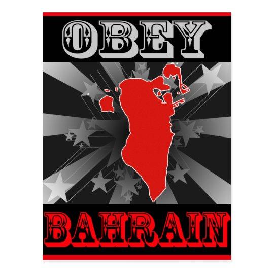 Obey Bahrain Postcard