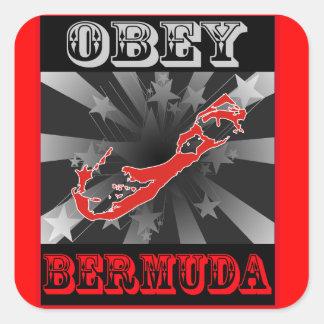 Obey Bermuda Square Sticker