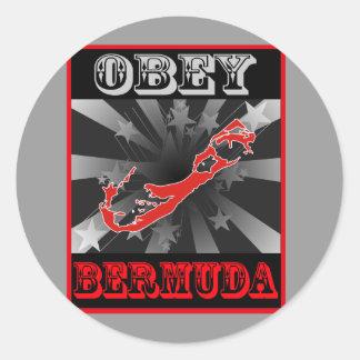 Obey Bermuda Stickers