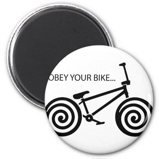 Obey BMX Fridge Magnets