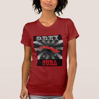 Obey Cuba Tee Shirt