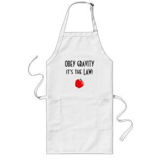Obey Gravity Long Apron
