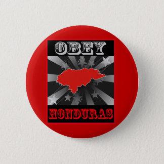 Obey Honduras 6 Cm Round Badge