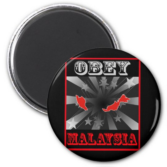 Obey Malaysia Magnet