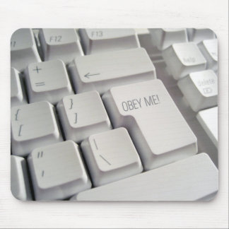 Obey Me! Keyboard Mouse Mat