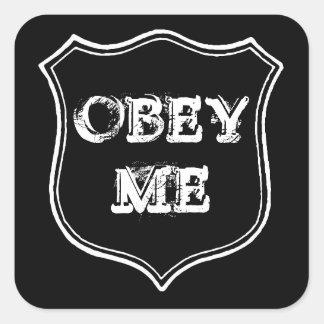 """""""Obey Me"""" Sticker"""