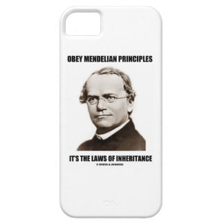 Obey Mendelian Laws Of Inheritance (Gregor Mendel) Case For The iPhone 5