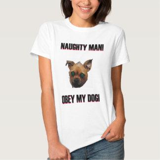 Obey my Dog Tshirts