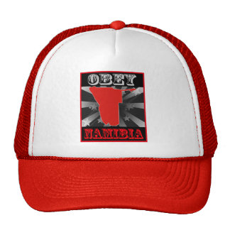 Obey Namibia Mesh Hats