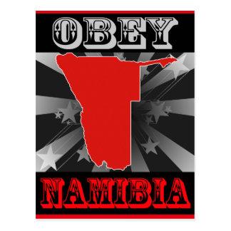 Obey Namibia Postcard