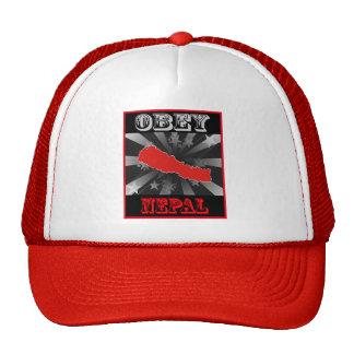 Obey Nepal Trucker Hats