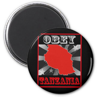 Obey Tanzania Refrigerator Magnet