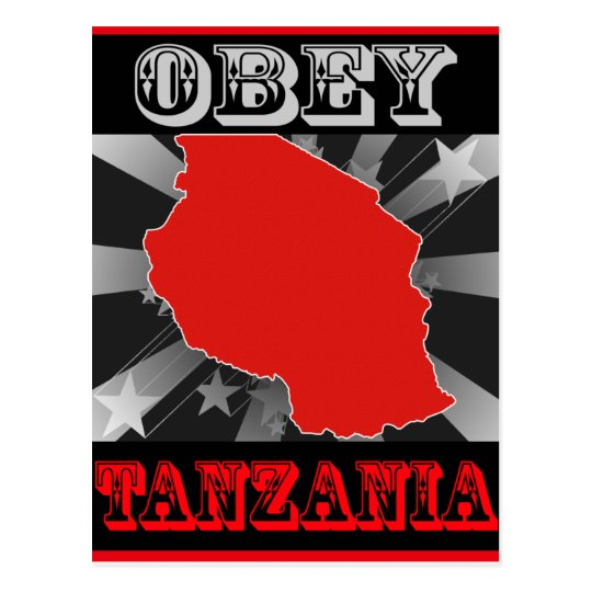 Obey Tanzania Postcard