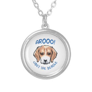 OBEY THE BEAGLE NECKLACE