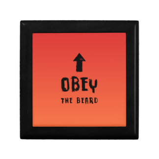 Obey the beard! gift box