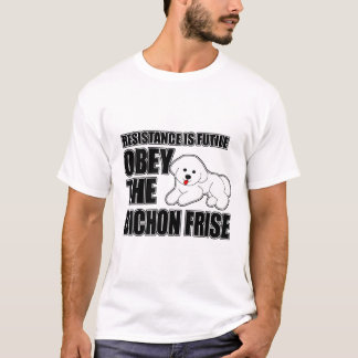 Obey The Bichon Frise T-Shirt