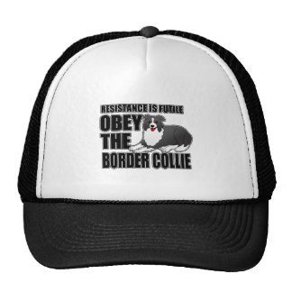 Obey The Border Collie Trucker Hats