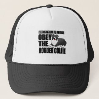 Obey The Border Collie Trucker Hat
