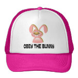 Obey the Bunny Cap