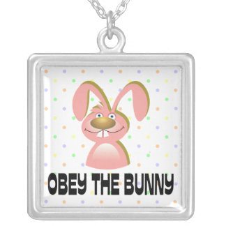 Obey The Bunny Necklace