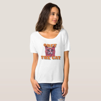 Obey the Cat T-Shirt