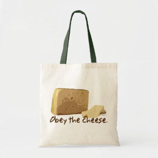Obey the Cheese Tote Bag