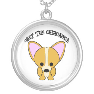 Obey The Chihuahua Pendants