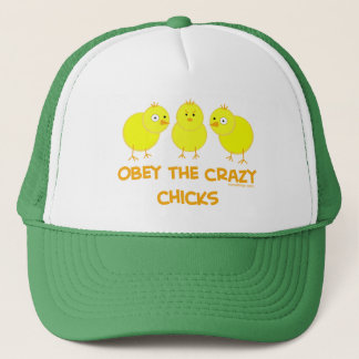 Obey The Crazy Chicks Trucker Hat