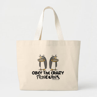 Obey The Crazy Penguins Bags