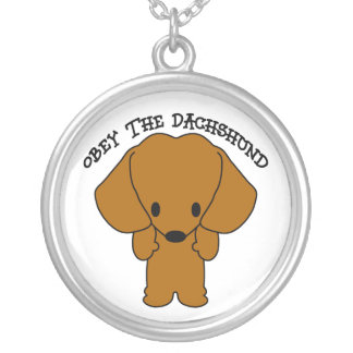 Obey The Dachshund Jewelry