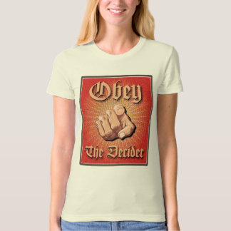 Obey The Decider Tee Shirt