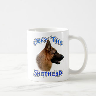 Obey the German Shepherd Coffee Mug