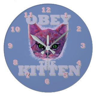 Obey the Kitten Clocks