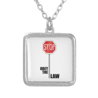 Obey The Law Custom Necklace